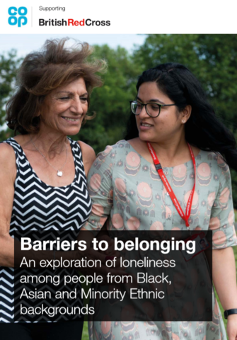 New report explores loneliness among people from Black, Asian and Minority Ethnic (BAME) backgrounds