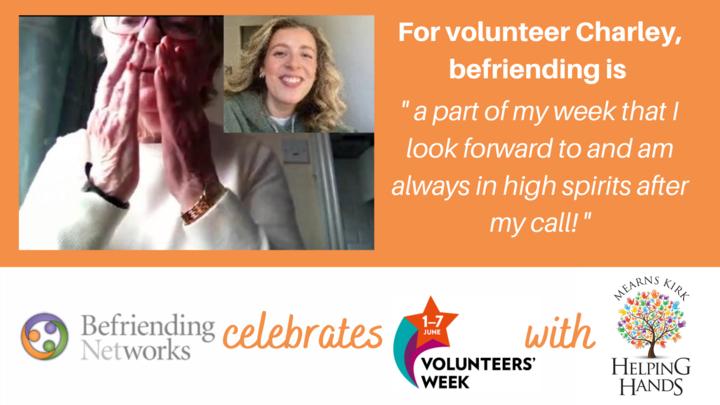 Celebrating Volunteers' Week